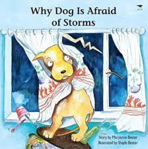 WHY DOG IS AFRAID OF STORMS