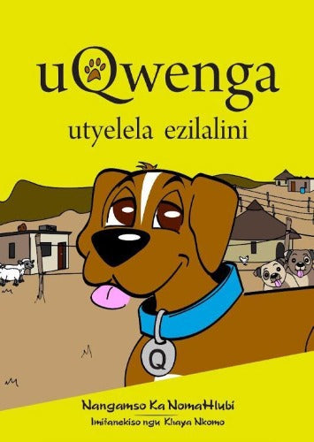 Qwenga's visit to the village