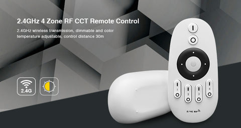 2.4G 4 Zone with RF CCT Remote Control