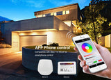 IP65 2.4G RF Wireless Control 20W Smart RGB+CCT LED Flood Light