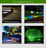 IP65 2.4G RF Wireless Control 9W Smart RGB+CCT LED Garden Flood Light