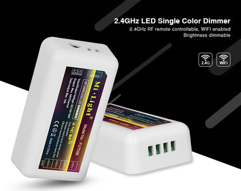 2.4GHz RF LED Single Colour Dimmer Control Unit