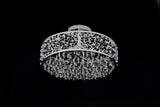 FluxTech - Modern Starburst Crystal Pendant Ceiling Light