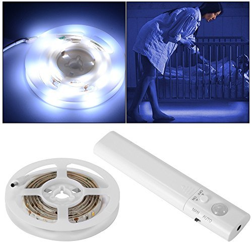 Battery Operated - Dual Mode Motion Sensor Flexible LED Strip
