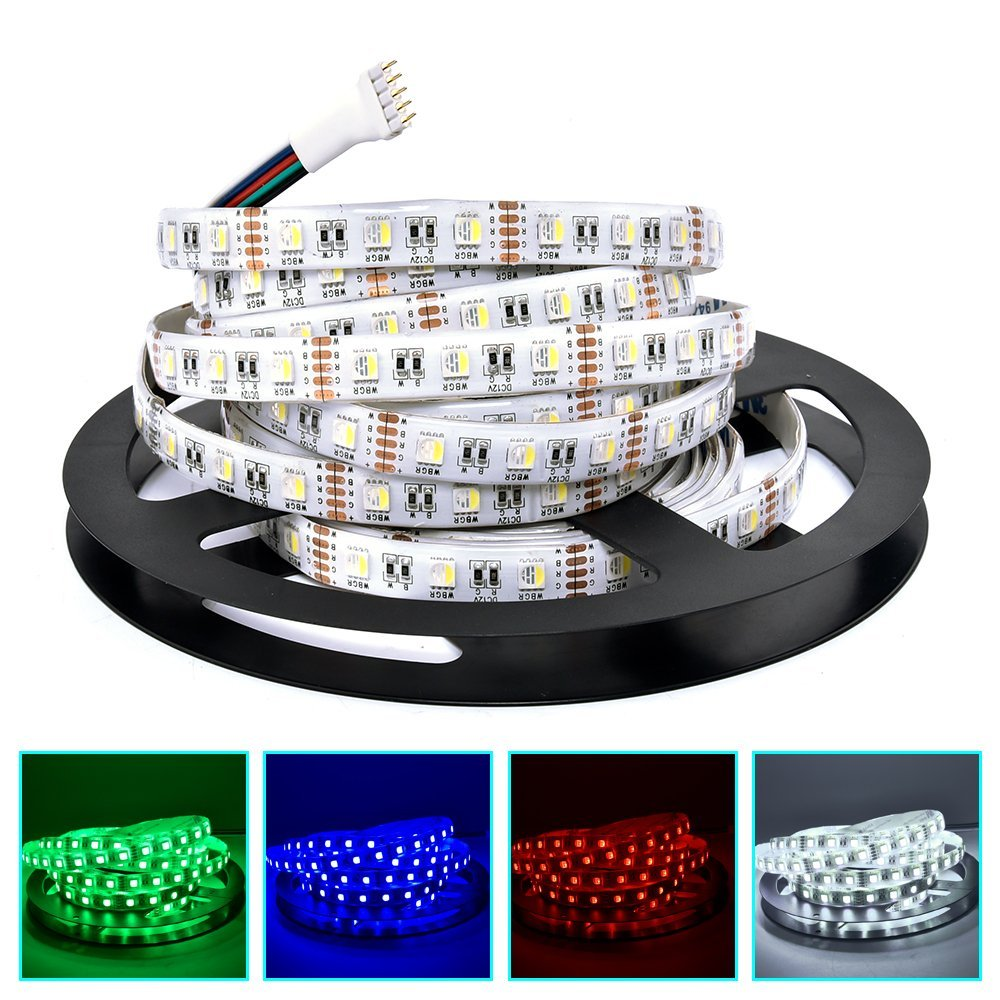 Waterproof IP65 High Power 4in1 Colour Changing Strip Light - Low Voltage