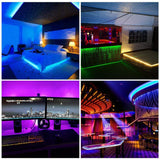 FluxTech - IP65 Individually Addressable Dream Colour Programmable  RGB LED Strip Light