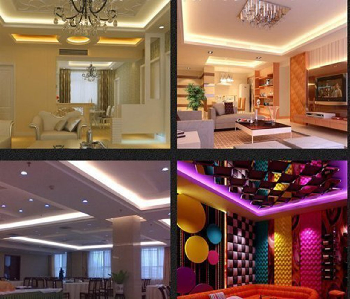 FluxTech - IP20 RGB Colour Changing Strip Light - Low Voltage