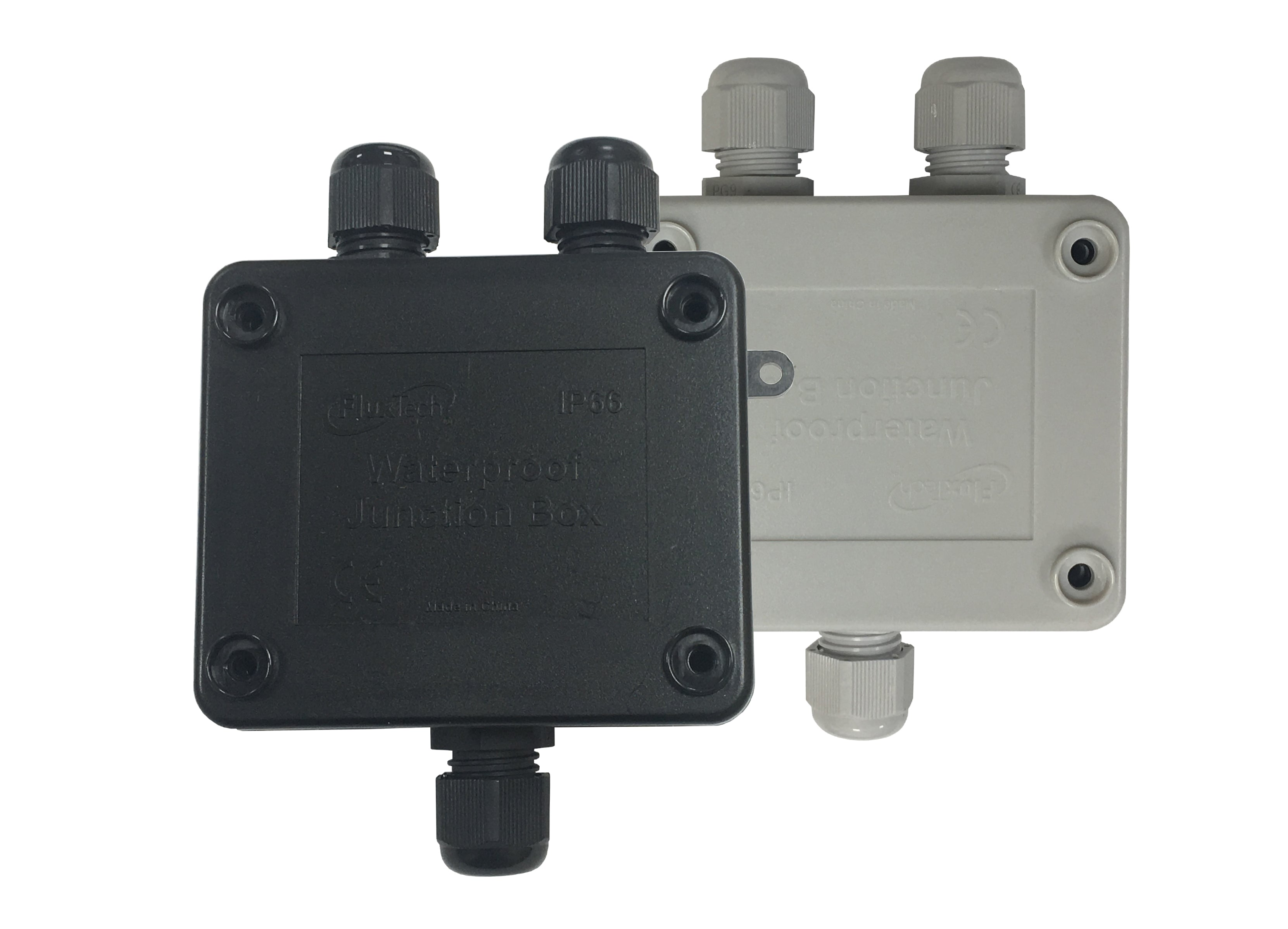 FluxTech - IP66 Outdoor Waterproof 3 Way Cable Connectors Junction Box