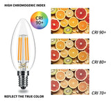 JustLED – LED 4W Candle Lamp Bulb [Energy Class A++]