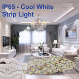 Waterproof IP65 High Power Cool White Colour Strip Light - Low Voltage