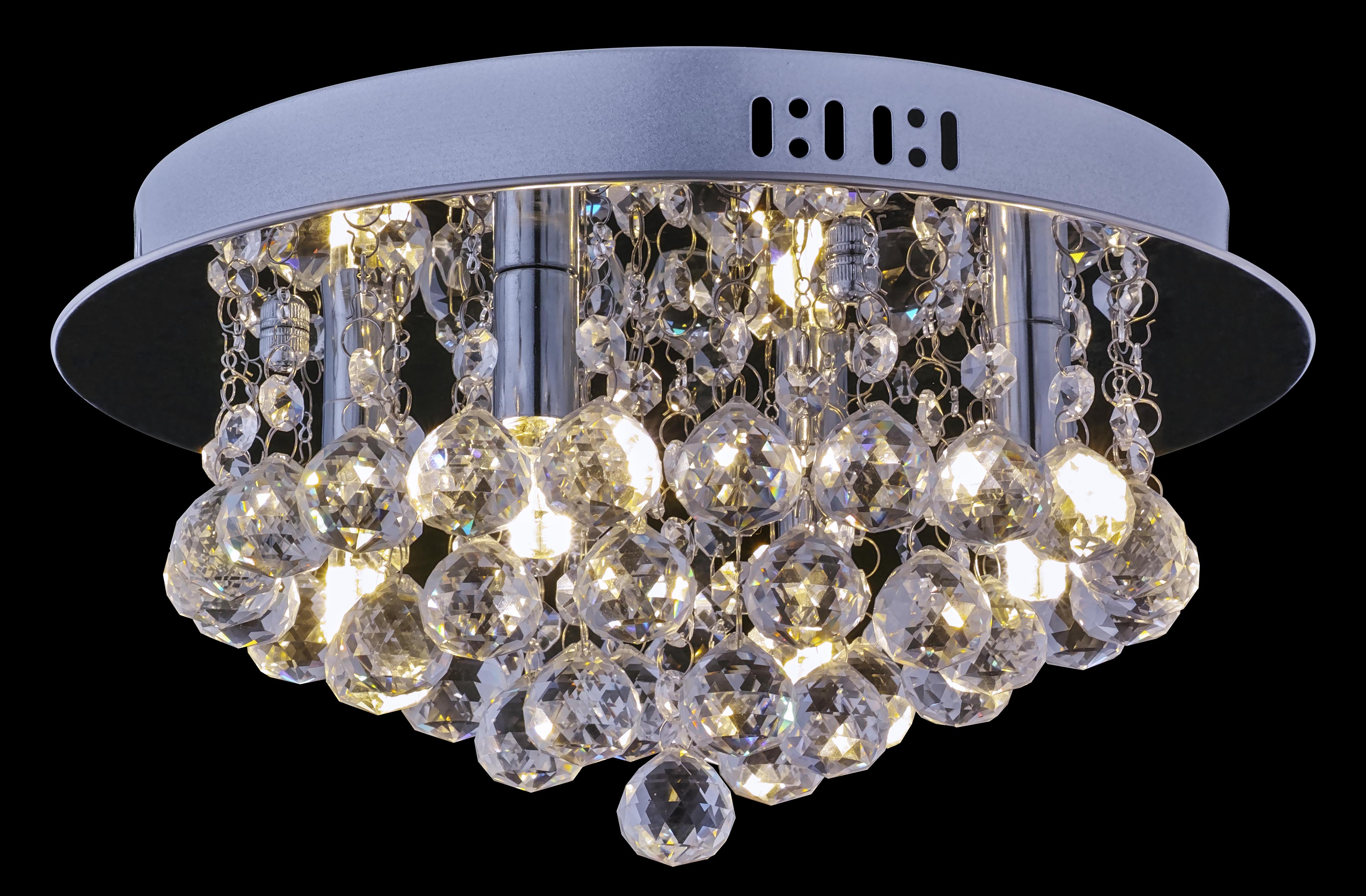 FluxTech - Phantom Raindrop 35CM Crystal Chandelier Ceiling Light Fixture