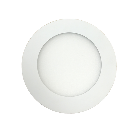 JustLED - Slim Round Recessed Ceiling Panel Light IP40 - 7W, 10W, 15W, 20W