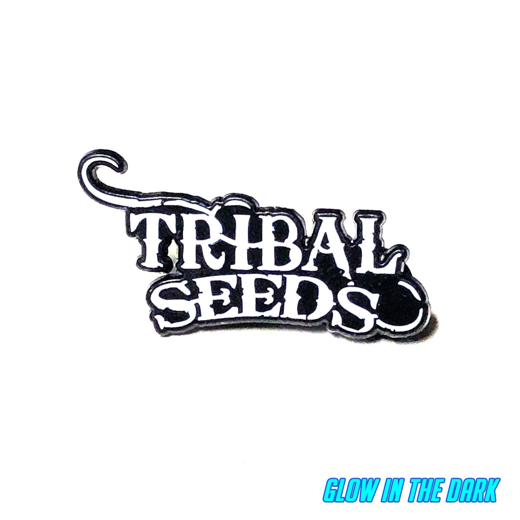 Tribal Seeds Glow N Dark Enamel Pin