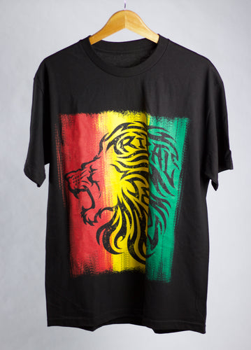 Tribal Lion Rasta T-Shirt