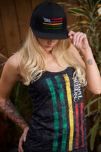 Ladies Tribal Flag Tank Top