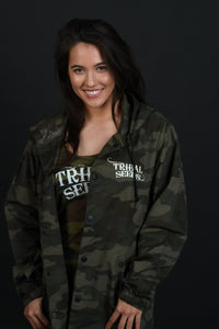 Camo Tribal Seeds Windbreaker