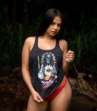 Ladies Tribal Heart Tank Top