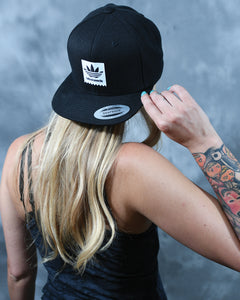 Tribal Tag Snapback Hat