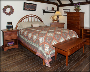 Rainbow Bed with Low Footboard