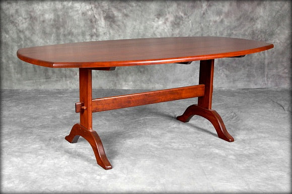 "78"" Oval Hancock Table"