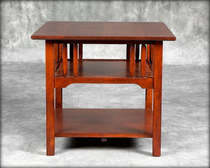 Cottage Spindle End Table