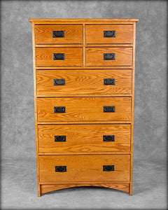 Mission 8 Drawer Chest