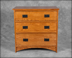 Mission 3 Drawer Bureau