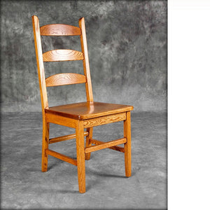 Round Slat Ladderback Chair