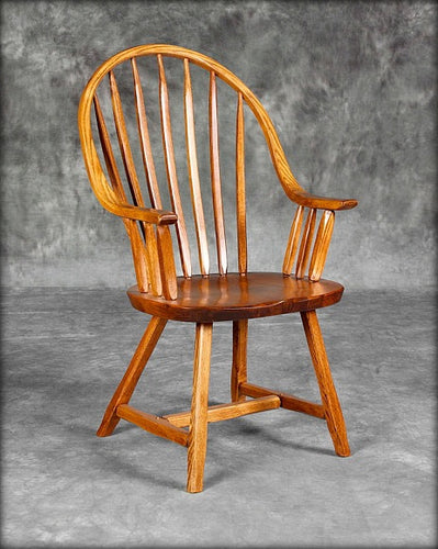 Continuous Bow Arm Chair