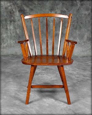 Crown Back Arm Chair