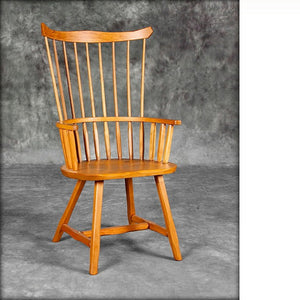 Comb Back Arm Chair