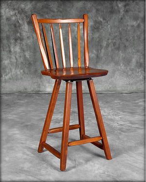 Stool with High Back