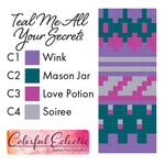 Teal Me All Your Secrets Soldotna Crop Kit