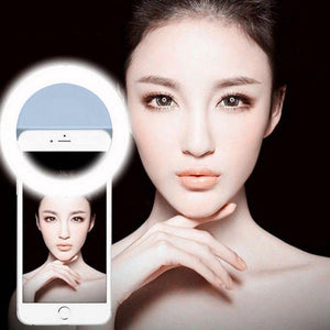 PERFECT LIGHT THE LED SELFIE FLASH RING FOR IOS AND ANDROID