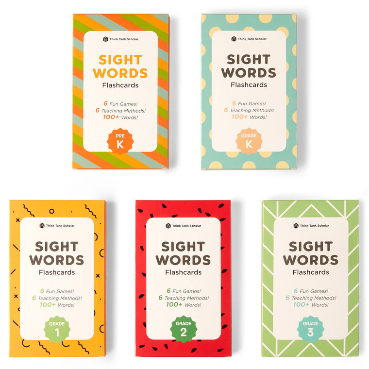 Sight Words Flash Card Games