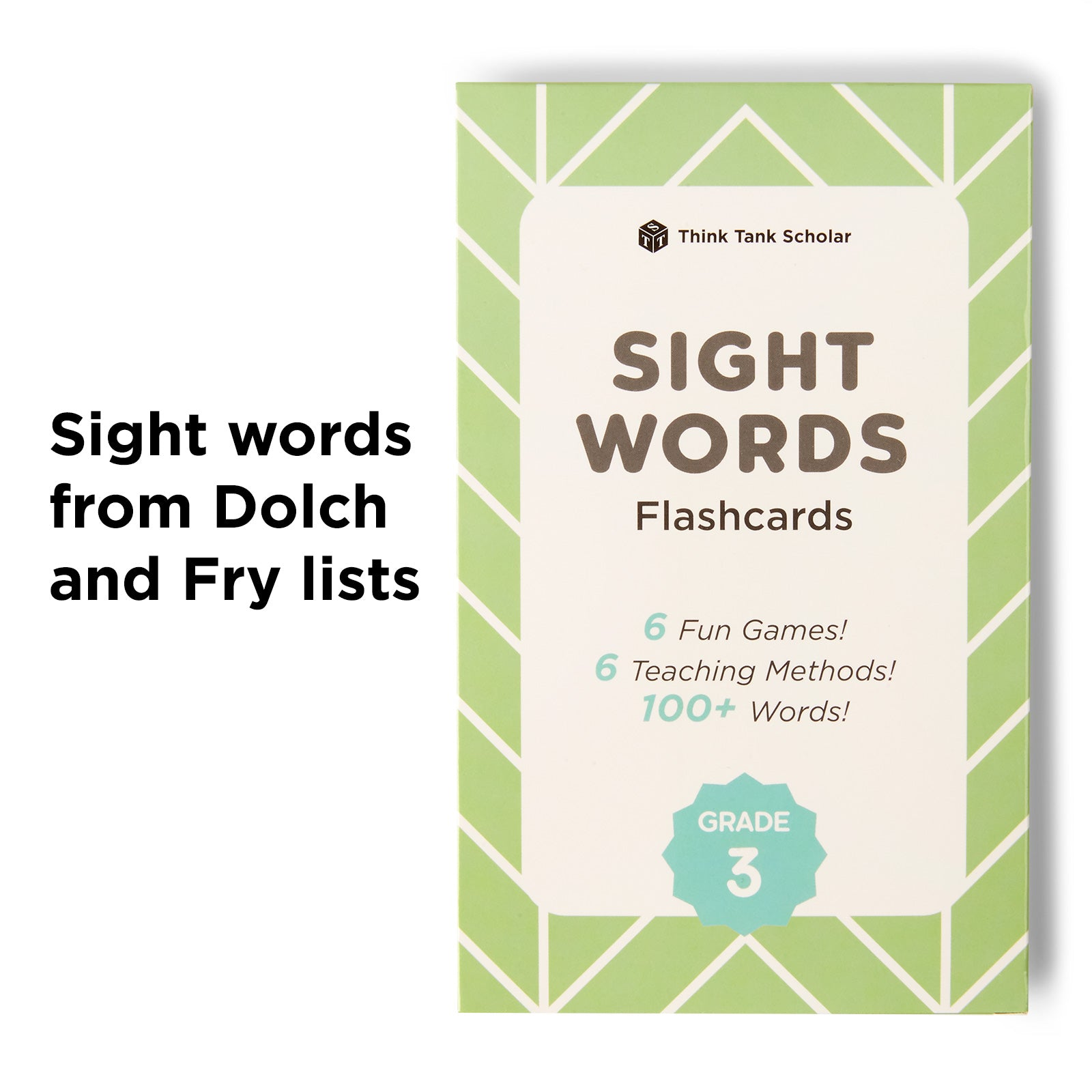 Third Grade Sight Words Flash Cards