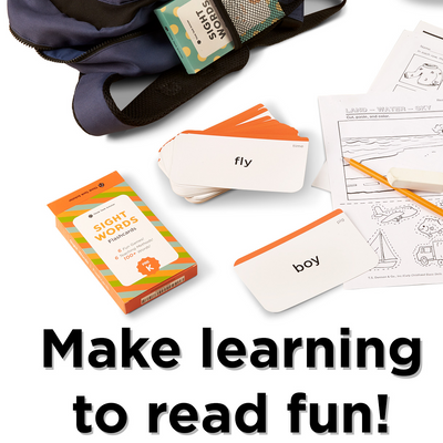 500+ Sight Words Flash Cards Bundle Set (Preschool, Kindergarten, 1st, 2nd & 3rd Grade)