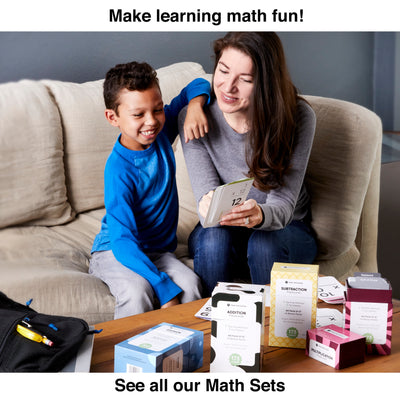 Make learning fun with Think Tank Scholar subtraction flash card math set!