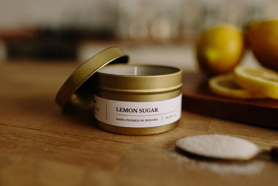 Lemon Sugar 5 oz Candle