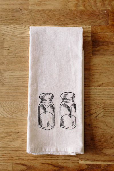 Salt & Pepper Shaker Kitchen Towel
