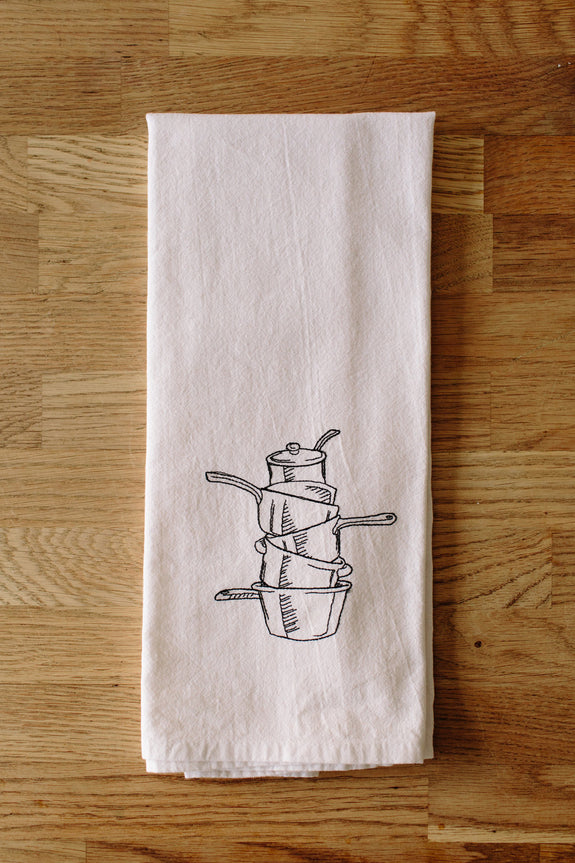Measuring Cups Kitchen Towel