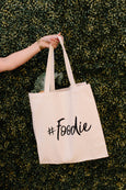 Hashtag #Foodie Tote