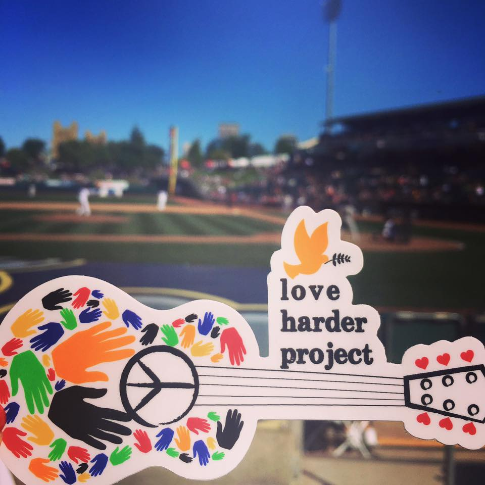 Love Harder Project Decal