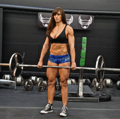 Sexy british crossfit women