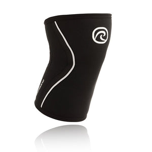 Rehband Knee Sleeve, Black, 7mm | Rehband