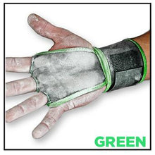 wodies-crossfit-hand-grips-green-palm-trim-on-green-trim-wrist-wrap-by-jerkfit