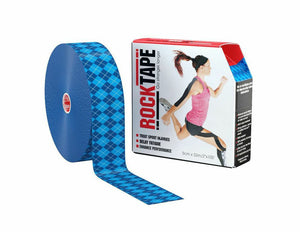 rocktape-kinesiology-tape-2-inch-discount-bulk-crossfit-application-argyle-blue-tape