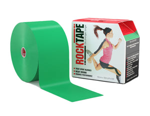 rocktape-kinesiology-tape-4-inch-discount-bulk-big-daddy-roll-crossfit-application-tape-green-tape