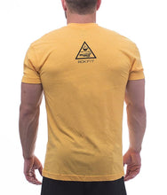 the-trifecta-bacon-coffee-fitness-heather-gold-mens-crossfit-shirt-back-by-rokfit