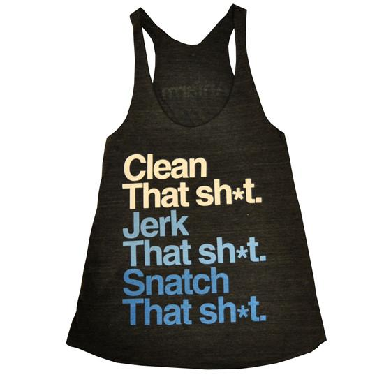 that-sh-t-womens-crossfit-tank-tri-black-fabric-white-blue-letters-front-by-anfarm